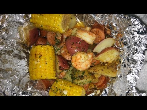 SUPER EASY SHRIMP BOIL RECIPE - FOIL BOIL