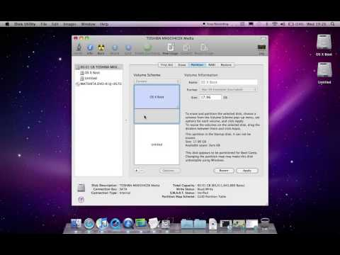 Disk Utility Dynamic Partitioning