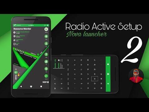 Radioactive Best Nova Setup #2 (Nova Launcher)