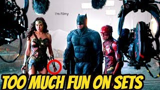 Justice League Bloopers and Behind the Scenes - Gal Gadot 2017