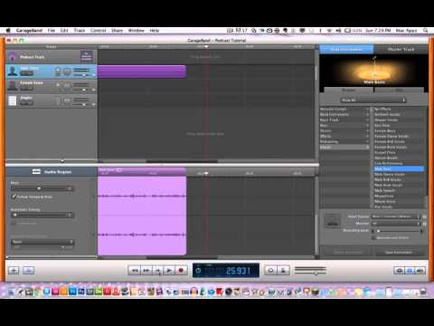 How To Create a Podcast Using GarageBand