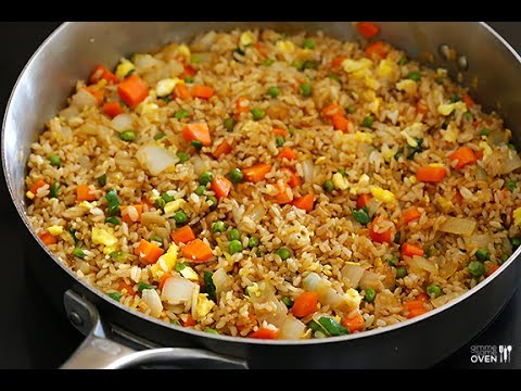 Recipe of Veg Fried Rice | Best Rice Recipe 2017