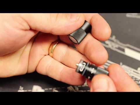Tiny LED Keychain Flashlight Olight I1R EOS 130 Lumens