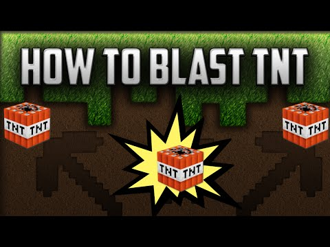 HOW TO BLAST TNT ON MINECRAFT CREATIVE MODE