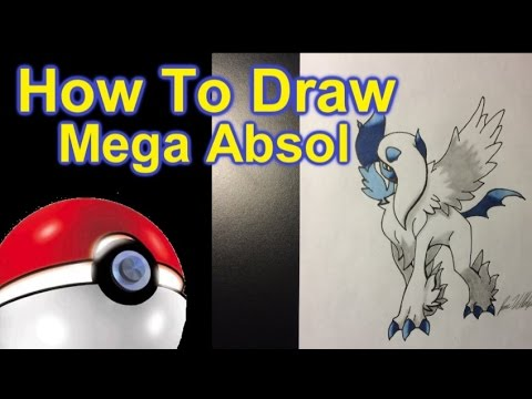 How To Draw Mega Absol