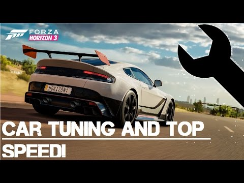 Forza Horizon 3 - How to make your car faster - Tuning