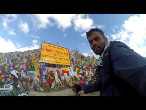 500KM Bicycle trip Manali-Leh-Khardungla