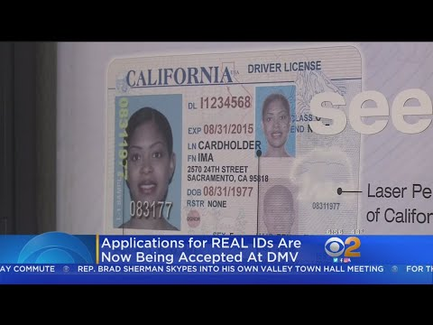 California Now Accepting For Real ID
