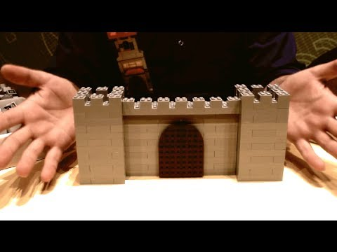 How to Build a LEGO Castle Wall (Interlocking technique)