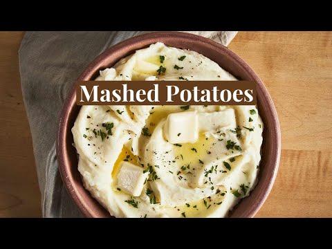 Thanksgiving Recipes: Mashed Potatoes