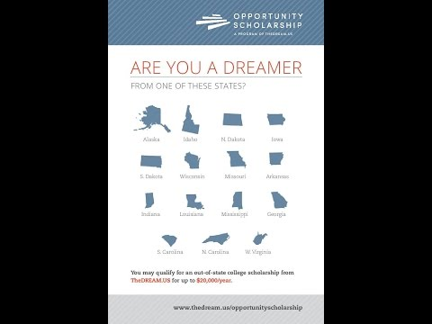 TheDream.US Opportunity Scholarship 2017-18