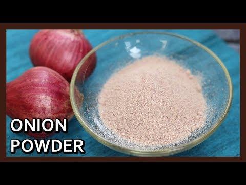 Homemade Onion Powder | Make your own Onion Powder Sundried | Kitchen Tips by Healthy Kadai