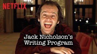 10 Step Writing Program with Jack Nicholson | The Shining | Netflix