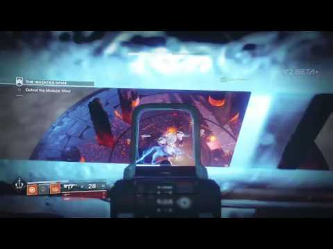 Destiny 2 Beta Glitches: The Inverted Spire Strike Cheese Spot for Boss!