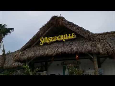 Sunset Grill Marathon, Florida Keys almost five months after hurricane Irma