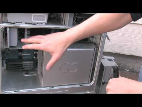 How to clean your Mac - Powermac G5 - Part 1