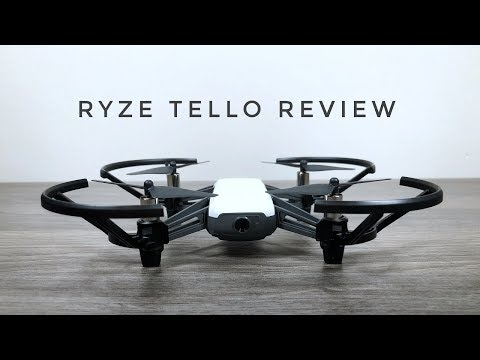 Ryze Tello Setup and Review