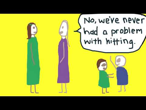 Parenting:  Illustrated with Crappy Pictures by Amber Dusick (Book Trailer)