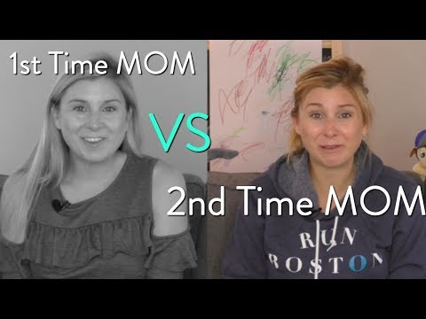 1st Time Mom vs 2nd Time Mom | SarahFit Mom