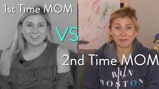 1st Time Mom vs 2nd Time Mom | SarahFit Mom