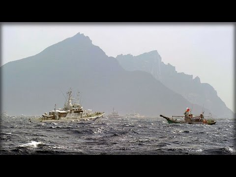 CHINESE BOATS HAVE THE JAPANESE NAVY ON HIGH ALERT