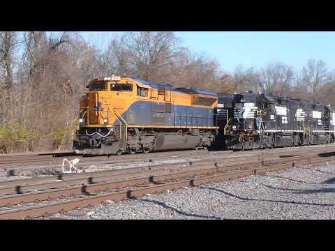 NS 1071 CNJ Heritage Unit at Abrams Yard