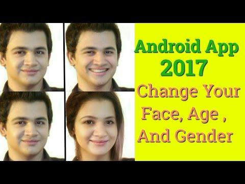 Transform your face Into beautiful smile, Get younger Or Older, Change Gender. Best App 2017