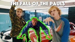 The Rise of the Pauls but everytime they brag Jake Paul falls