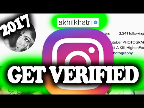 How to GET VERIFIED ON INSTAGRAM in 5 minutes