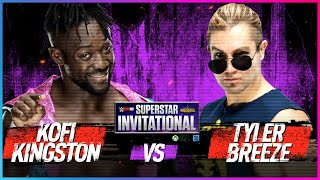 KOFI KINGSTON vs. TYLER BREEZE: Semis - WWE 2K18 Superstar Invitational Tournament