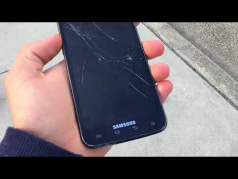 Samsung Galaxy S2 drop test