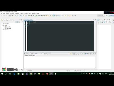 Tutorial: How to Create Your First C++ Project and program in Eclipse HD