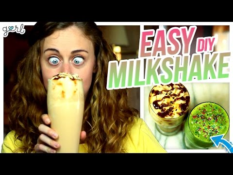 2 Delicious DIY Milkshakes! - Do It, Gurl