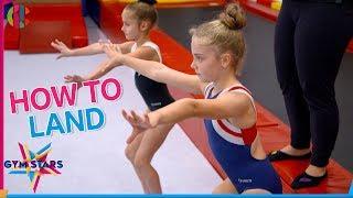 How to land | Gymnastics Tutorial