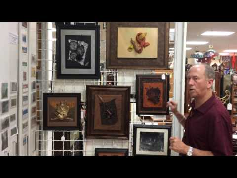 Robert Head Contemporary Dimensional Art at Gannon's Antiques Ft. Myers