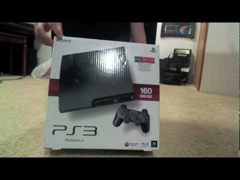 PlayStation 3 Slim Unboxing & First Look