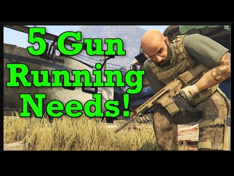 5 Things Rockstar Should Add In GTA Online Gunrunning! (Special Vehicles, Bunkers & More)