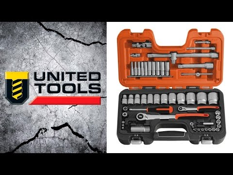 Bahco 56 piece Metric Socket Set - 1/2