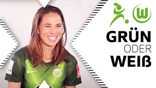 Instagram oder Snapchat? | Sara Björk Gunnarsdottir in Grün oder Weiß | VfL Wolfsburg Frauen