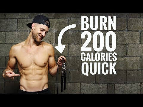 Quick 200 Calorie Burn Jump Rope Workout