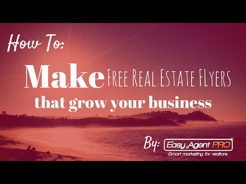 How To Make Free Real Estate Flyer Templates In Under 3 Minutes Printable