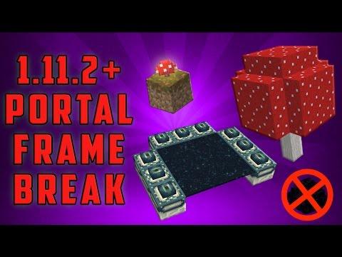 Minecraft 1.11/1.12+ Break the End Portal Frames - [No Dragon Egg!] [Simple]