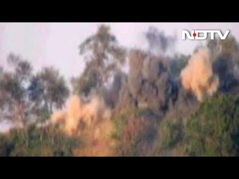Video: Army Blows Up Pakistan Posts That Helped Terrorists Cross LoC