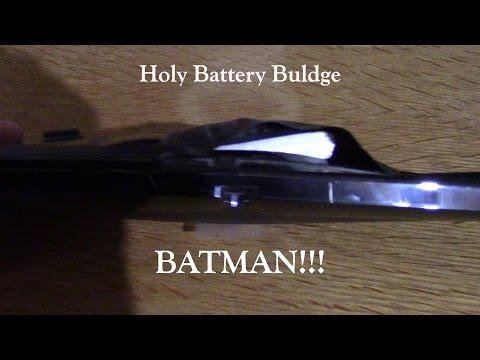 Holy Buldge Battery Batman! What happens when you bake a battery in the sun for a summer