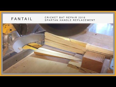 Fixing a Cricket Bat With a Broken Handle