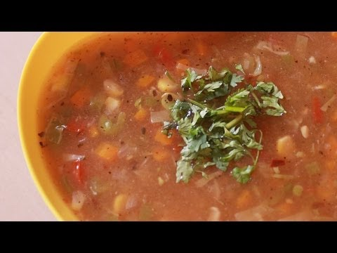 Mix Vegetable Soup - Winter Soup Recipe