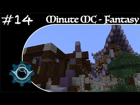 Minute Minecraft - Time Lapse - Fantasy Village - Ep.14