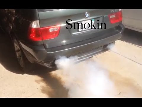 Stop your BMW burning oil. Stop Smoke from the tail pipe. For under $20 No additives. Car auto SUV