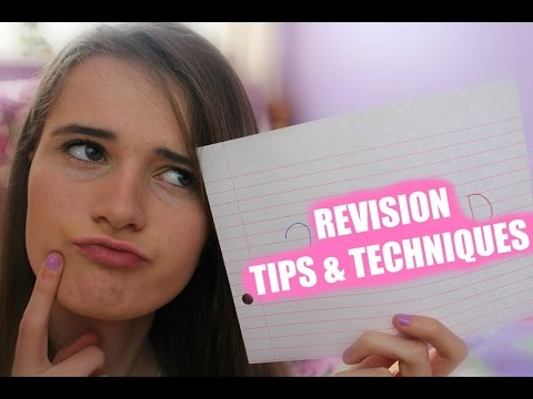 Simple Revision Tips & Techniques!