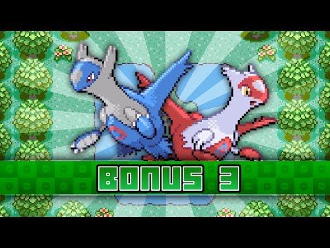 Pokemon Emerald - Bonus 3 - Latios, Latias, and Southern Island!